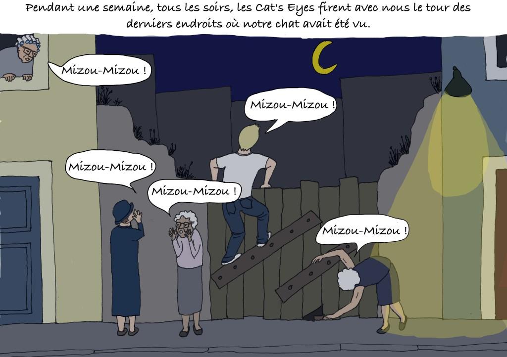 Les mamies de Lisbonne recherchent le chat